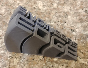 Engineers Edge Logo Printed with Grey ABS