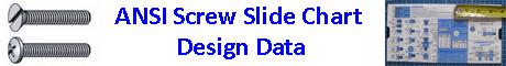 ANSI Screw Slide Chart Design Data