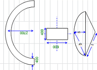 'Curved Beam Design Spreadsheet Calculator' from the web at 'http://www.engineersedge.com/beam_bending/images/curved-beam-sm.png'