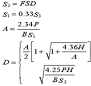Flagpole Base Design Calculator - Engineers Edge
