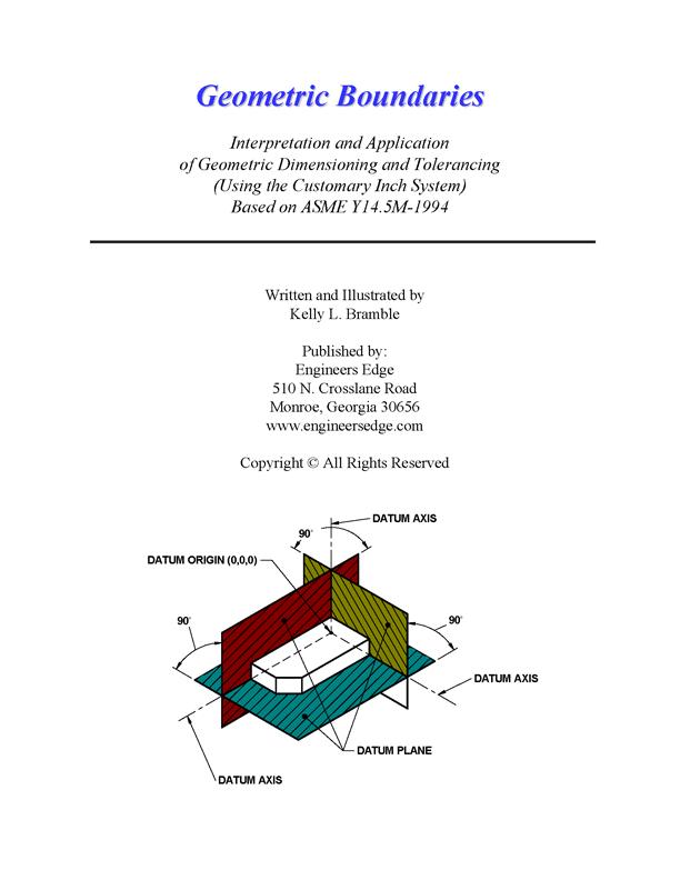 Asme Y145m 1994 Geometric Boundaries Interp Application