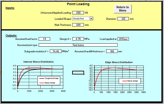 Concrete Slab Calculator : Design concrete slab nz standards spreadsheet calculator