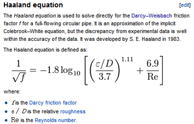 Harland Equation