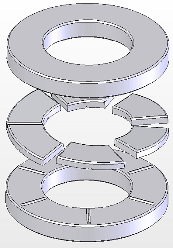 Typical Thrust Plate