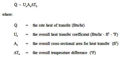 Overall Heat Transfer Coefficient Equation Engineers Edge Www Engineersedge Com