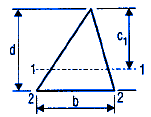 Section Properties Triangle
