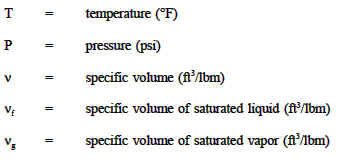 Steam Tables - Thermodynamics - Thermodynamics | Engineers Edge